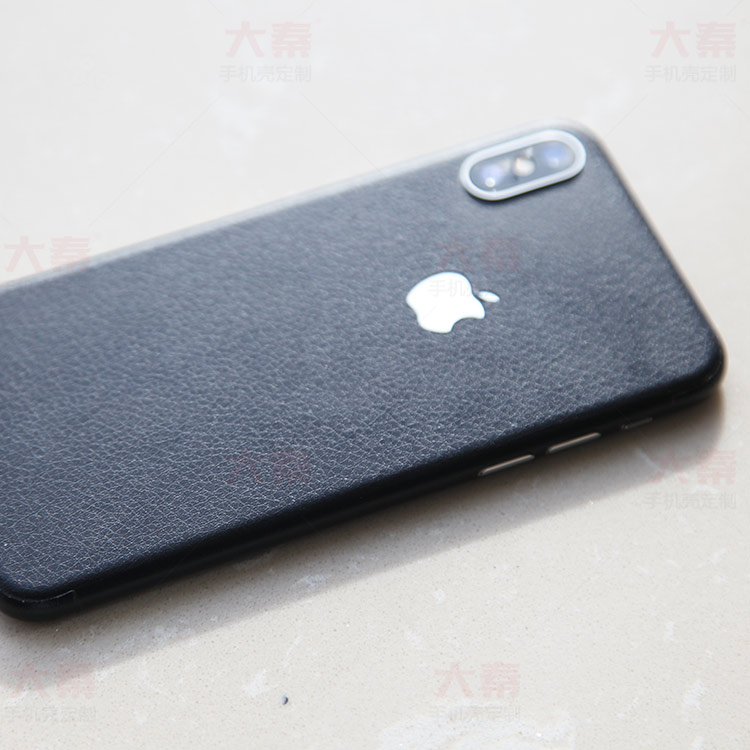 iphone X贴皮
