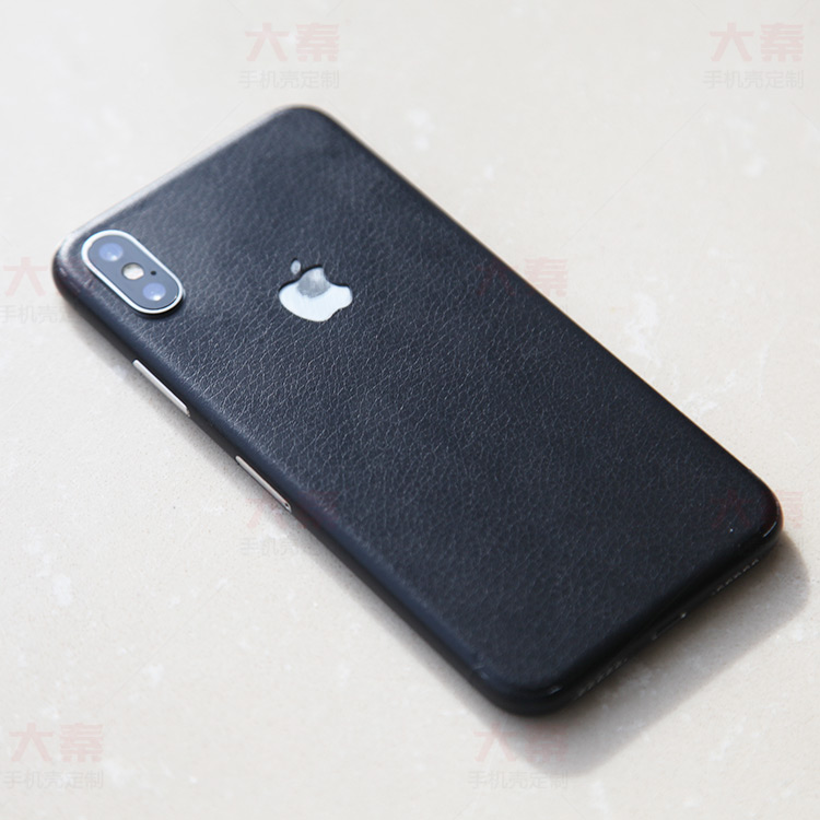 iphone X皮贴
